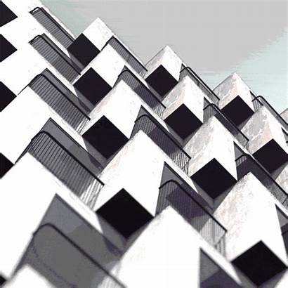 Architecture 3d Gifs Loop Building Animated Doze