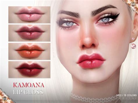 kamoana lip gloss   pralinesims  tsr sims  updates