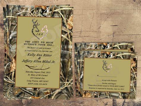 18+ Camo Wedding Invitation Designs & Templates