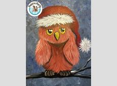paint n partykids canvas painting owl 12232014 helena