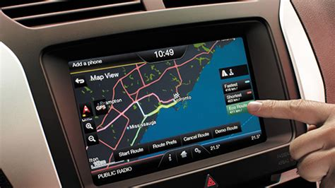 Ford Sync Maps by Ford Mondeo Sat Nav Sd Card Update Automotive