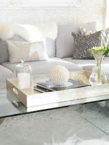 lucite coffee table xl gold tray perfect accessories light