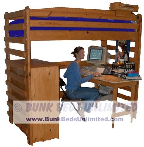 Desks With Storage For Adults by College Loft Bed Plans Bed Plans Diy Blueprints