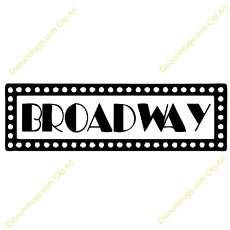 Broadway Clipart Broadway Musical Clipart