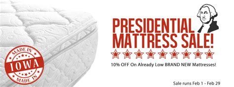 presidential mattress sale stuff