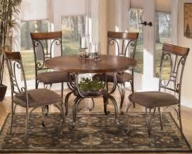 plentywood 5 piece round dining room set marjen of