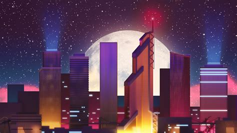 neon city  wallpapers hd wallpapers id