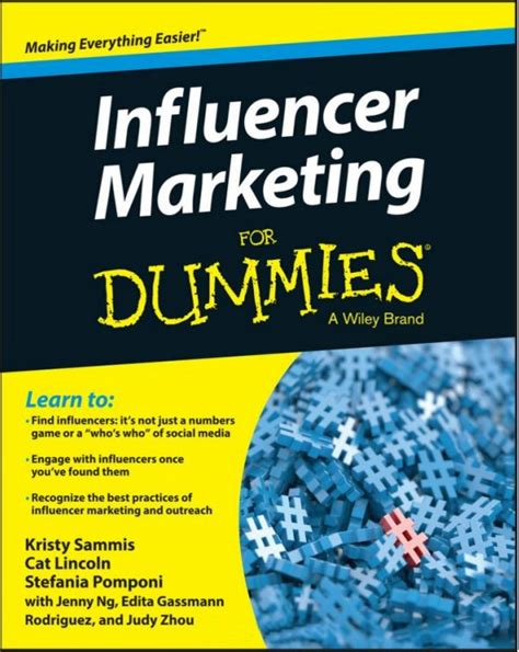 Marketing For Dummies by Influencer Marketing For Dummies Book Review Giveaway