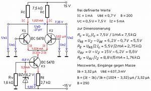 Transistor Berechnen : differenzverst rker mit transistoren ~ Themetempest.com Abrechnung