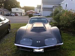 1971 Chevrolet Corvette Stingray Coupe Black Rwd Manual