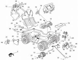 Barbie Jammin Jeep Instruction Manual