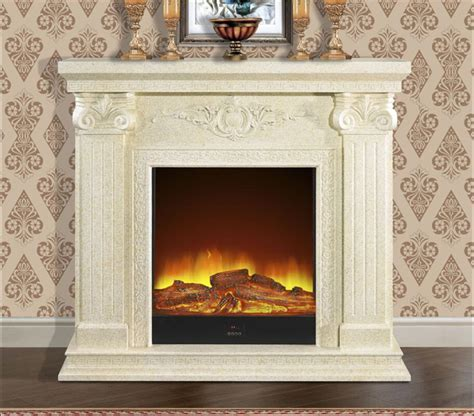 Fake Fireplace Insert : Contemporary Interior Design with
