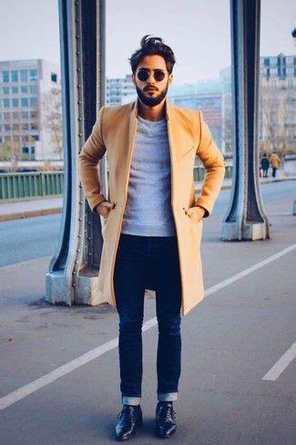 pull col roulé homme zara tenue pardessus brun clair pull 224 col rond gris jean