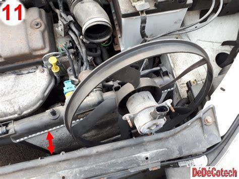 changer le moto ventilateur sur peugeot 206 1 1i tu1jp tuto