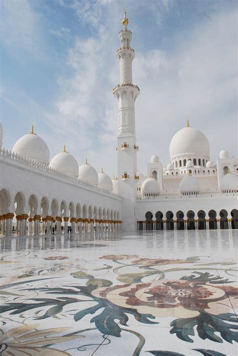 Sheikh Zayed Grand Mosque Here In Abu Dhabi