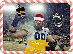 the unlikely orange steelers beat packers give christmas