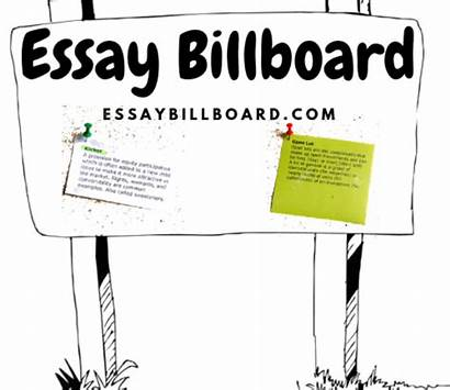 Billboard Essay