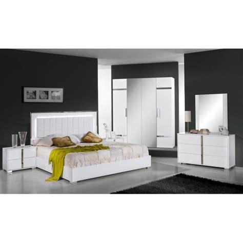 chambre 224 coucher compl 232 te design moderne panel meuble