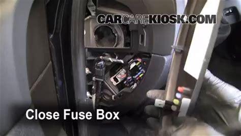 79 Chevy Fuse Box Covef by 2007 2013 Chevrolet Silverado 1500 Interior Fuse Check