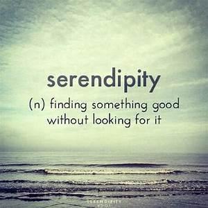Serendipity Quotes. QuotesGram