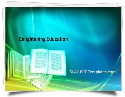 Powerpoint Template For Education by Powerpoint And Educationtemplates