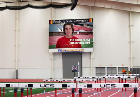 Pittsburg State University Plaster Center - NextLED Signs