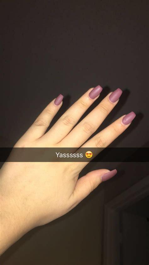 Linger over coffee , coffin matte nails. Linger over coffee , coffin matte nails | Pretty nails ...