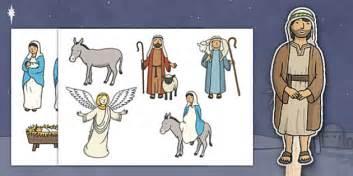 nativity themed stick puppets nativity stick puppet