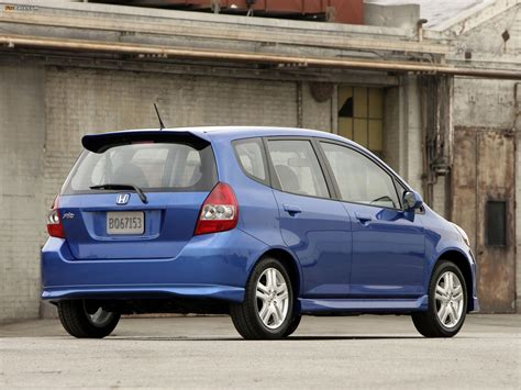 Honda Fit Sport US-spec (GD) 2006–08 wallpapers (1600x1200)