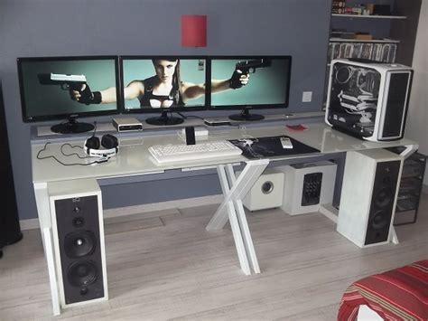 bureau de gamer bureau gamer design chaise bureau accoudoir design du monde