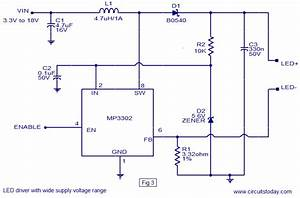 Led Driver Ic Circuit Diagram World