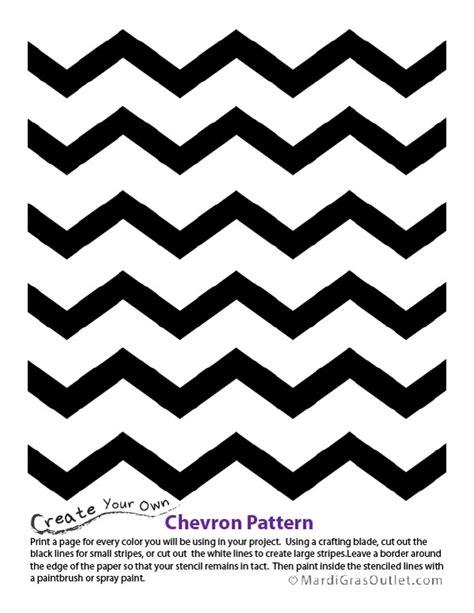 chevron template ideas by mardi gras outlet chevron pattern stencil free printable