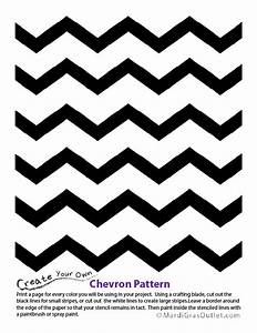 s chevron design coloring pages With chevron template for painting