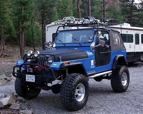 2 door jeep wrangler 1993 jeep wrangler yj major lifter road rock crawler 2