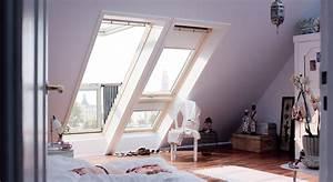 Idees de chambre a coucher avec des fenetres de toit velux for Chambre à coucher adulte moderne avec fenetre de toit velux a projection