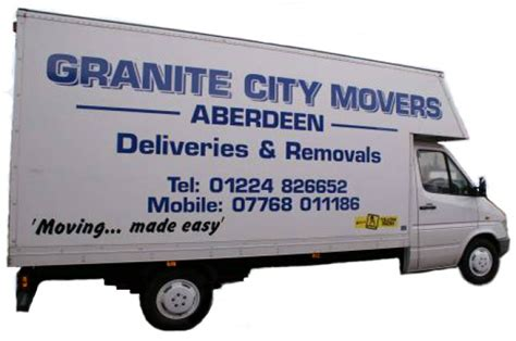 removals aberdeen granite city movers removals aberdeen