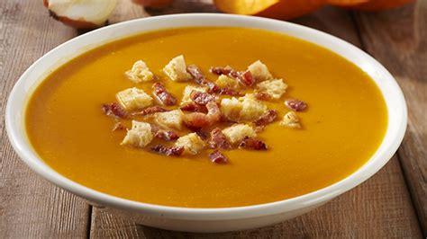 la soupe de potiron  lardon recettes thermomix