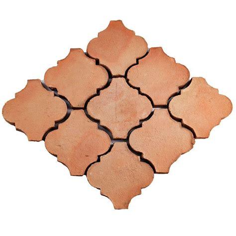merola tile trevol lantern 6 in x 6 in spanish terra