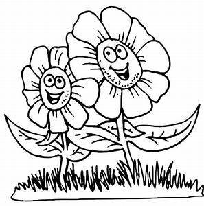 Flower Coloring Pages for Kids | Coloring Lab