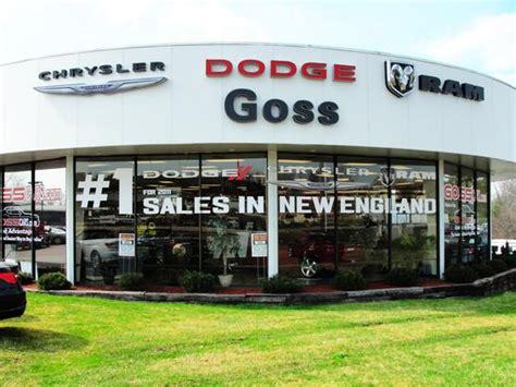 goss dodge chrysler jeep car dealership  south