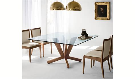 mesa de comedor cuadrada moderna goblin cattelan de lujo