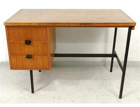 bureau design vintage modernist desk jacques hitier oak 1950 vintage design 20th