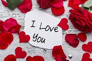 valentine's day love heart romantic i love you heart roses ...