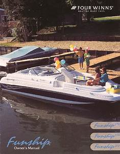 Four Winns Funship 214 234 254 Boat Owners Manual  2002
