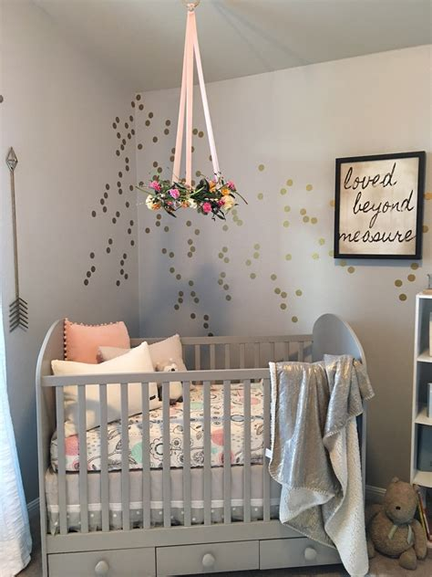 nursery trend floral wreath mobiles floral wreath and