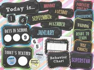 17 Best images about Chalkboard classroom on Pinterest