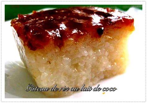 cuisine tahitienne recettes gâteau de riz au lait de coco recettes nc cuisine calédonienne