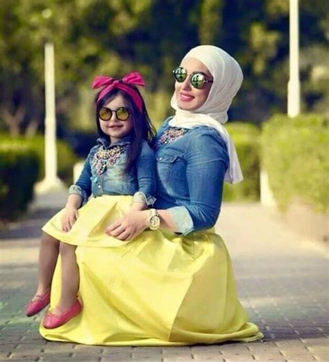cute mother daughter outfit hijab fashion pinterest search mother daughters  outfit