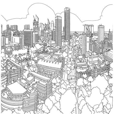 steden en gebouwen kleurplaten kleurplatenpagina nl