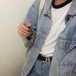 Aesthetic jeans style grunge denim - image #4293879 by loren@ on Favim.com